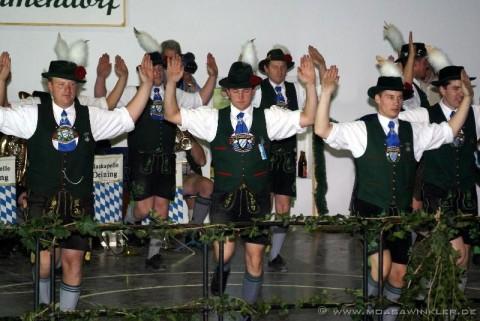 Erster öffentlicher AUftritt 2007 beim Gründungsfest in Mammendorf